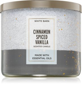 Bath & Body Works Cinnamon Spiced Vanilla vela perfumada  II.