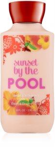 Bath & Body Works Sunset by the Pool Λοσιόν σώματος για γυναίκες 236 μλ