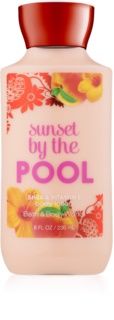Bath & Body Works Sunset by the Pool leite corporal para mulheres 236 ml