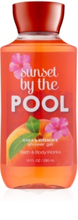 Bath & Body Works Sunset by the Pool gel de duche para mulheres 295 ml