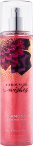 Bath & Body Works A Thousand Wishes tělový sprej pro ženy 236 ml třpytivý