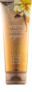 Bath & Body Works Warm Vanilla Sugar Bodycrème voor Vrouwen  226 gr Met Sheaboter