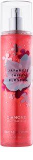 Bath & Body Works Japanese Cherry Blossom спрей за тяло за жени 236 мл. с блестящи частици