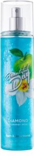 Bath & Body Works Beautiful Day spray corporel pour femme 236 ml pailleté