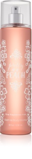 Bath & Body Works Pretty as a Peach tělový sprej pro ženy 236 ml