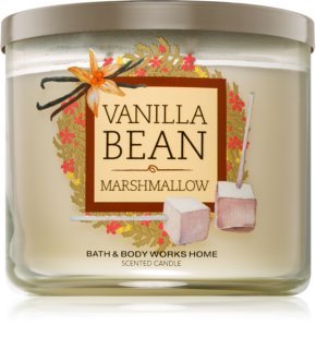 Bath & Body Works Vanilla Bean Marshmallow vela perfumada 411 g
