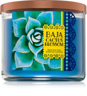 Bath & Body Works Baja Cactus Blossom ароматна свещ  411 гр.