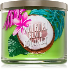 Bath & Body Works Waikiki Beach Coconut vela perfumada  411 g