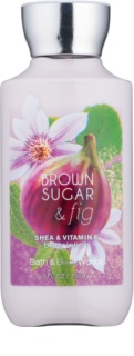 Bath & Body Works Brown Sugar and Fig leite corporal para mulheres 236 ml