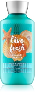 Bath & Body Works Live Fresh Seaside Breeze telové mlieko pre ženy 236 ml