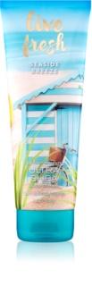 Bath & Body Works Live Fresh Seaside Breeze telový krém pre ženy 226 g