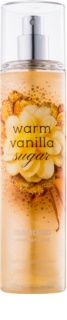 Bath & Body Works Warm Vanilla Sugar spray corporel pour femme 236 ml pailleté