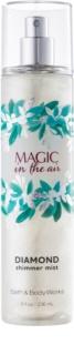 Bath & Body Works Magic In The Air testápoló spray nőknek 236 ml csillogó