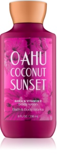 Bath & Body Works Oahu Coconut Sunset Körperlotion für Damen 236 ml