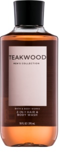 Bath & Body Works Men Teakwood Shower Gel for Men 295 ml