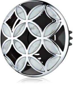 Bath & Body Works Silver Shiny Pattern držiak na vôňu do auta   clip