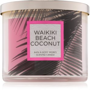 Bath & Body Works Waikiki Beach Coconut Scented Candle 411 g