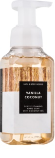 Bath & Body Works Vanilla Coconut jabón espumoso para manos