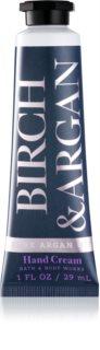 Bath & Body Works Birch & Argan Handcreme