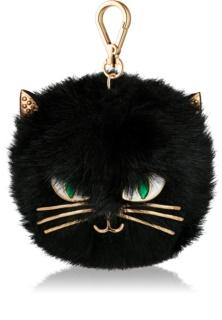 Bath & Body Works PocketBac Furry Black Cat silikonový obal na antibakteriální gel