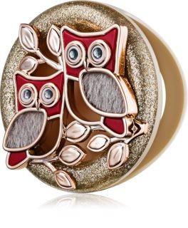 Bath & Body Works Shimmering Owls Auto-Dufthalter   zum Aufhängen