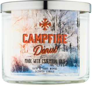 Bath & Body Works Camp Winter Campfire Donut Scented Candle 411 g