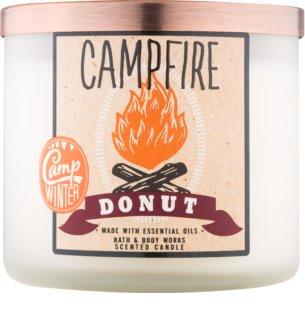 Bath & Body Works Camp Winter Campfire Donut Duftkerze  411 g
