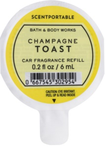 Bath & Body Works Champagne Toast ambientador de coche para ventilación 6 ml recarga de recambio