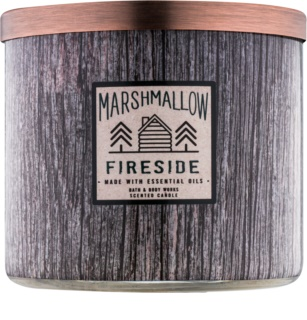 Bath & Body Works Marshmallow Fireside illatos gyertya  411 g