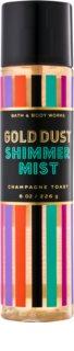 Bath & Body Works Champagne Toast tělový sprej pro ženy 226 g třpytivý