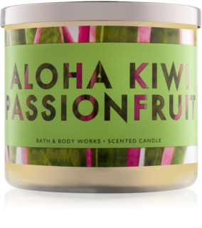 Bath & Body Works Aloha Kiwi Passionfruit Duftkerze  411 g