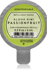 Bath & Body Works Aloha Kiwi Passionfruit désodorisant voiture 6 ml recharge