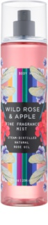 Bath & Body Works Wild Rose & Apple spray corporel pour femme 236 ml