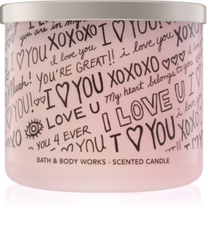 Bath & Body Works Honeysuckle Bouquet mirisna svijeća 411 g limitirana serija