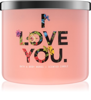 Bath & Body Works Georgia Peach mirisna svijeća 411 g limitirana serija I Love You