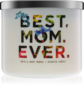 Bath & Body Works Fresh Cut Lilacs mirisna svijeća 411 g limitirana serija Best. Mom. Ever.