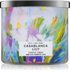 Bath & Body Works Casablanca Lily vela perfumado 411 g