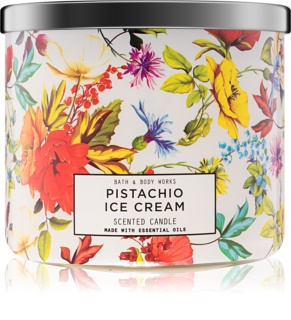 Bath & Body Works Pistachio Ice Cream Αρωματικό κερί 411 γρ