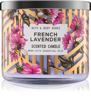 Bath & Body Works French Lavender lumanari parfumate  411 g I.