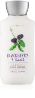 Bath & Body Works Blackberry & Basil lotion corps pour femme 236 ml
