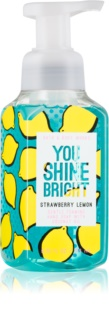 Bath & Body Works Strawberry Lemon Schaumseife zur Handpflege