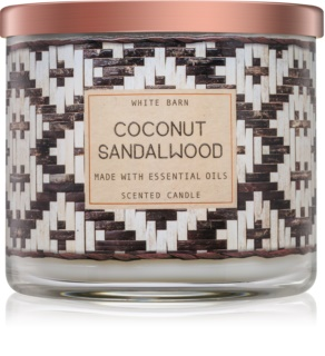 Bath & Body Works Coconut Sandalwood dišeča sveča  411 g