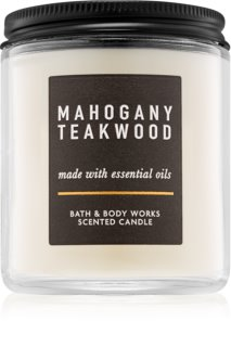 Bath & Body Works Mahogany Teakwood vela perfumado 198 g III.
