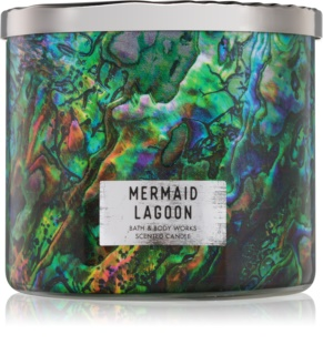 Bath & Body Works Mermaid Lagoon vonná sviečka 411 g