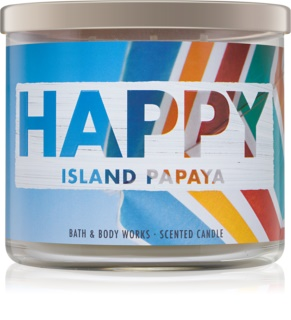 Bath & Body Works Island Papaya Duftkerze  411 g