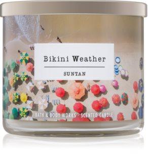 Bath & Body Works Suntan dišeča sveča  411 g  Bikini Weather