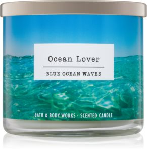 Bath & Body Works Blue Ocean Waves vonná svíčka 411 g I. Ocean Lover