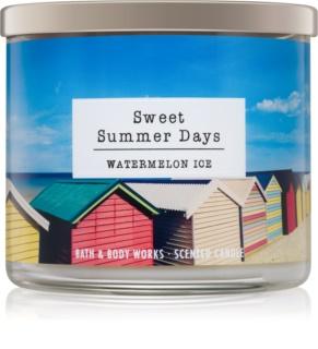 Bath & Body Works Watermelon Ice candela profumata 411 g  Sweet Summer Days