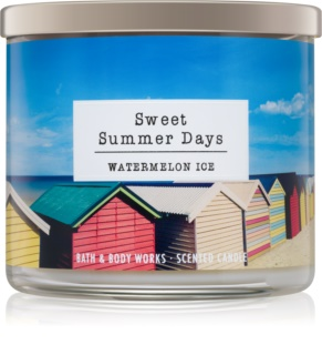 Bath & Body Works Watermelon Ice vela perfumada 411 g  Sweet Summer Days