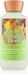 Bath & Body Works Crisp Orchard Leaves telové mlieko pre ženy 236 ml